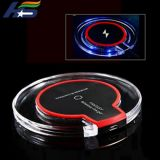 Hot Sale Crystal USB Phone Wireless Qi Charger at Wholesale Price