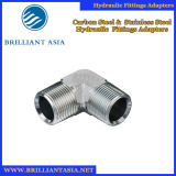 Steel Material Elbow Straight Hydraulic Hose Fitting, Flange and Hydraulic Adapter