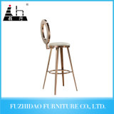 Gold Steel High Bar Chair with High Quality