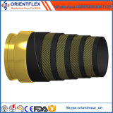Discharging Used Rubber Concrete Pump Rubber Pipe