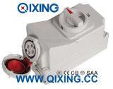 IP67 16A 4p Waterproof Wall Switch Socket
