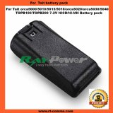 Two Way Radio Tait Battery Pack Topb100 Topb200 for Tait Orca 5000/5010/5015/5018/Orca 5020/5030/5040