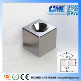 High Quality N40 F12.7X12.7X12.7mm NdFeB Counterbore Magnet
