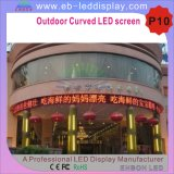 P10 Outdoor Full Color for Advertising Curved LED Screen