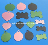 All Kinds of Customized Aluminum Dog Tags/Charms