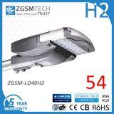 IP66 Ik10 40W Solar LED Street Light Luminaires for Outdoor Lighting