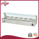 with LCD Temperature Indication Bain Marie (TBM)