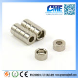 Customized Strong N42 Neodymium Step Magnets