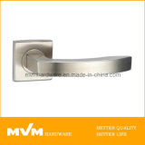 Stainless Steel Door Handle on Rose (S1002)