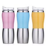 OEM Design Stainless Steel Sublimation Heated Travel Mug (SH-SC63)