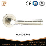 Aluminum Entry Door Hardware Chrome Lock Latch Handles (AL006-ZR02)