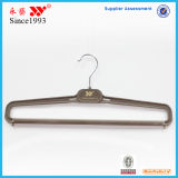 Cheap Plastic Flocking Bottom Pants Hanger