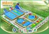 Inflatable Amusement Park Luxury Inflatable Water Park for Summer