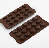 Heart Shape Silicone Baking Tools Bake Ice Tray Cake Chocolate Mould