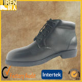 Black Genuine Leather Cheap Police Office Shoes