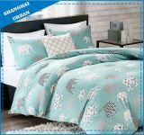 Green Elephant Design Cotton Kids Duvet Cover Bedding