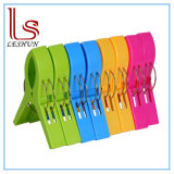 8 Pack Beach Towel Clips in Bright Colors