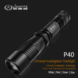 Police, Law Inforcements Application Aluminum Balance Spotligh Zoomable LED Flashlight