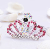 Fashion Crystal Rhinestone Baby Kids Princess Birthday Party Girl Women Hair Comb Gift Tiara Crown