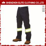 Reflective High Visibility Men Cotton Workwear Pants (ELTHVPI-29)