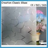 3-8mm Clear /Colored Pattern Glass with AS/NZS 2208