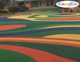 Kindergarten Flooring Surface Colorful EPDM Rubber Granules