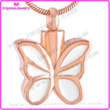 Stainless Steel Jewelry Cremation Necklace Butterfly Pendants
