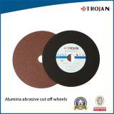 High Quality Alumina Abrasive Cut off Wheel Manufacture Made in China