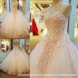 Beading Bridal Wedding Dress Pink Lace Wedding Gowns Ld1868