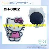 3D Cartoon Kitty Shoe Decoration Rubber Child Clog Charm