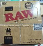Raw Kingsize Slim Natural Hemp Gum Smok Rolling Paper Raw