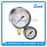 Bottom Connect Liquid Filled Dial Pressure Gauge