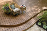 Easy to Install WPC Decking Wood Plastic Composite Flooring