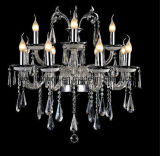 Antic and Jade Crystal Chandelier Lamp (AQ20002/8+4)
