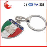 Welcomed Personalized Metal Logo Keychain