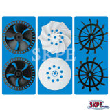 Precision Plastic Injection Mould Product, Motor Fan, Motor Plastic Part