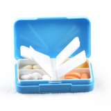 4 Compartments Portable Plastic Medicine Box