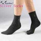 Men′s Anti-Bacterial and Anti-Odour Silver Fiber Socks