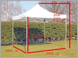Sunplus Manufacturer Steel PVC Folding Gazebo