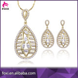 Fascinating Brass Jewelry Gold Plated Jewelry Set for Girls and Women