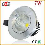 5W 7W 9W COB LED Downlight with 3 Years Warranty
