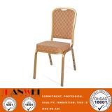 Hotel Metal Frame Restaurant Chair Wooden Furniture