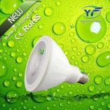 490lm 560lm 660lm 770lm 1050lm 7*10W LED Flat PAR Light