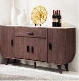 MDF+Red Oak Wood Veneer Dining Cabinet&Sideboard (SC002)
