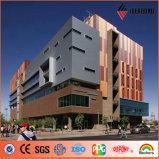 Fire Resistant Aluminium Composite Pane Building Material