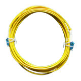 LC/PC Duplex Siglemode Fiber Optic Patchcord Cable