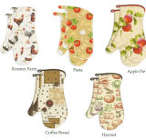Printed Multicolor Oven Mitts New Designs