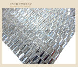Crystal Rhinestone Strass Mesh 24*40 for Hot Fix