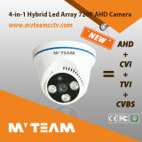 720p Indoor CCTV Dome Camera Hybrid CCTV Camera with Cvi Ahd Tvi Analog Modes Mvt-Tah43n