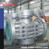 API 6D Cast Steel Inverted Pressure Balance Lubrciated Plug Valve